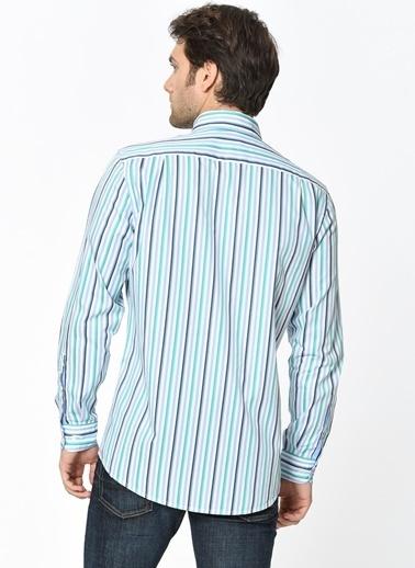 Uzun Kollu Çizgili Gömlek-Lacoste